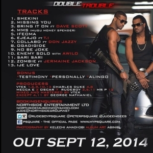 P-Square -  Enemy Solo Ft. Awilo